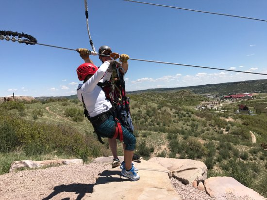 Castle Rock, CO: Zip Line #4