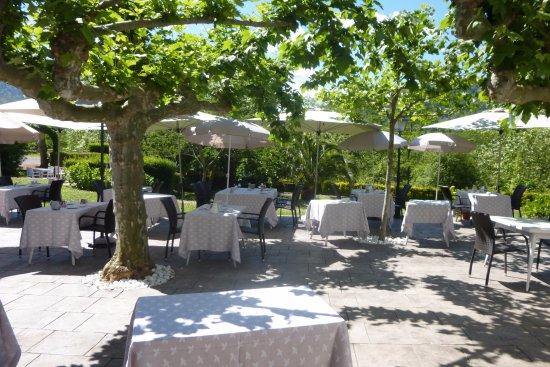 Terrasse Ombrag E Photo De Les Jardins De Bakea