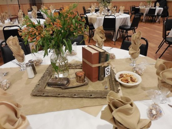 The Friendly Buffalo Banquet Room Decor