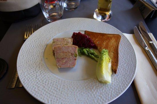 entr e terrine de volaille au foie gras picture of le. Black Bedroom Furniture Sets. Home Design Ideas