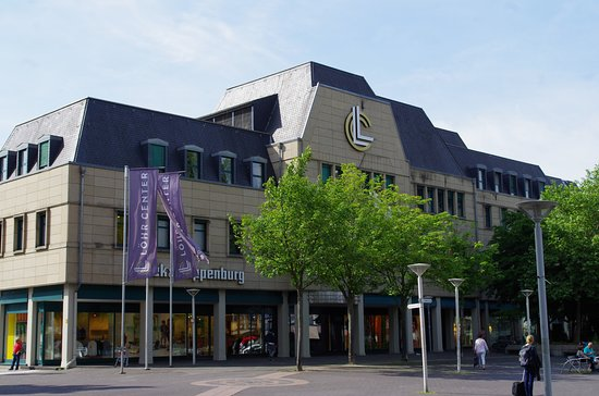 Koblenz, Germany: Löhr Center снаружи