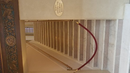 The Historic Davenport, Autograph Collection: Hotel Stairway to the main Ballroom