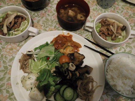 Furano Hostel: yummy dinner