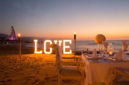 Cena Rom 225 Ntica En La Playa Hotel Playa Los Arcos Picture Of Playa Los Arcos Hotel Beach Resort