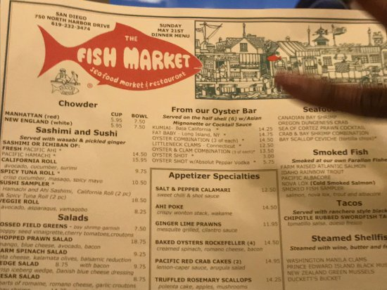 So many great choices picture of the fish market san for Fish market san diego ca