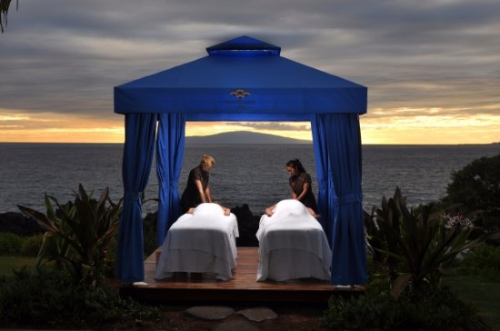 Wailea, Hawái: Oceanfront Couples Massage.