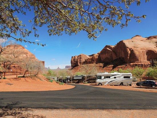 Goulding's Lodge & Campground: Campingplatz