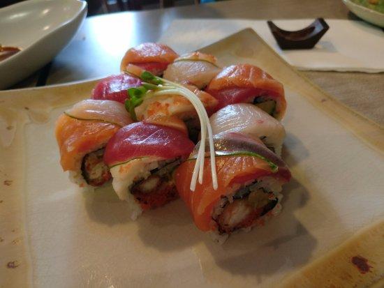 Rainbow Sushi Picture Of Isao Bangkok Tripadvisor