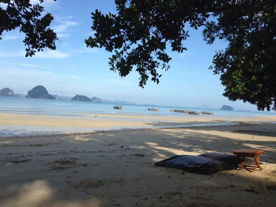 The Tubkaak Krabi Boutique Resort: la spiaggia
