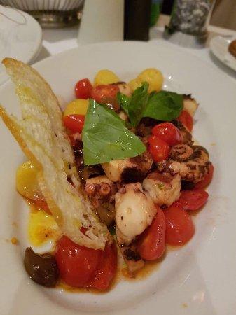 Bocca di Bacco: Octopus salad