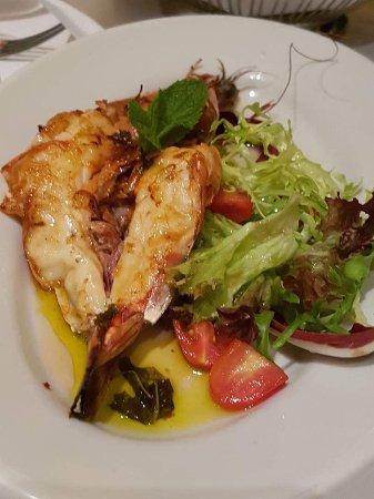 Bocca di Bacco: Shrimps salad