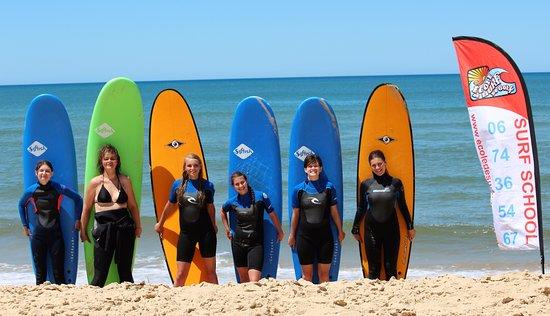 Ecole de surf du Golf