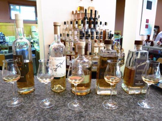 Distilleria Beccaris: Degustazione