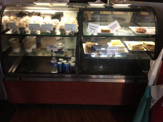 Opus Espresso & Food Bar: Opus - dessert & bakery counter