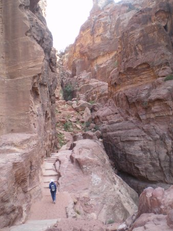 Hoher Opferplatz: Petra Stairs to High Place of Sacrifice