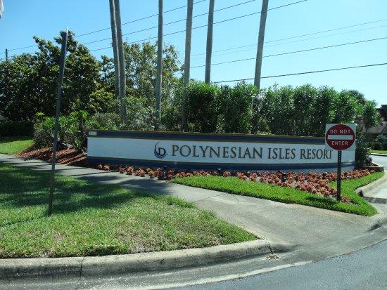 Polynesian Isles Resort: Entrada