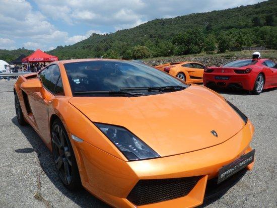 Vauvenargues, Prancis: Lamborghini Gallardo