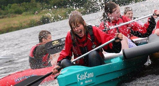 Astbury Water Sports Centre: Katakanu