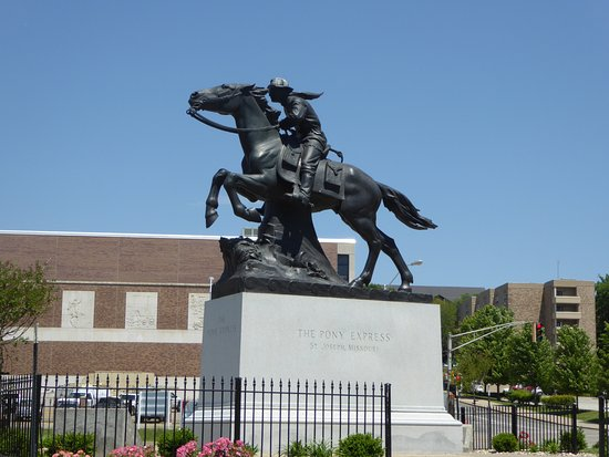 Pony Express Monument