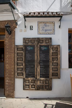 Istan, Spain: Carta del restaurante