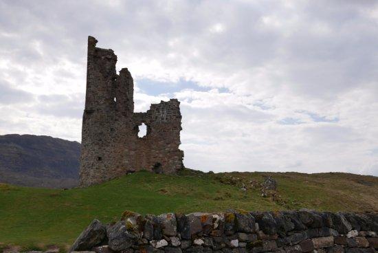 Assynt, UK: The castle