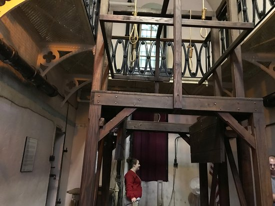 Old Jail Museum: The gallows where they hung some of the Molly Magiers.