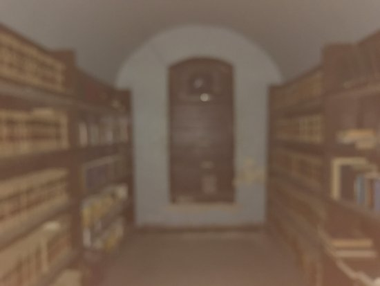 Jim Thorpe, PA: library not sure why this turned out fuzzy