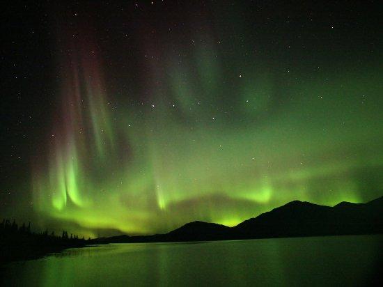 Yukon, Canada: The night skies glow with the magical aurora borealis