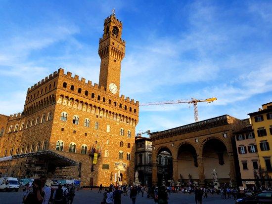 Piazza della Signoria we Florencji