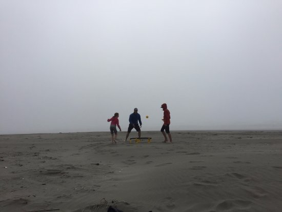 Ocean Shores, WA: There was an ocean back there.