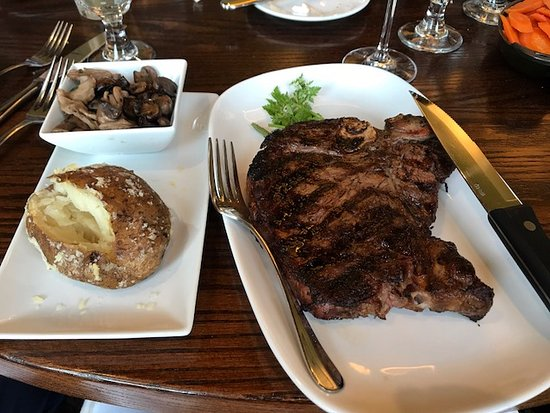 Groton, MA: The porterhouse