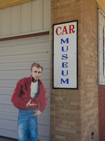 Pecos, TX: James Dean says check out the Classic Car Museum