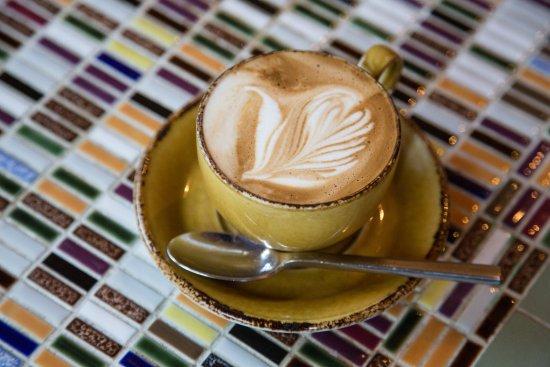 Glen Oaks Big Sur: Coffee at Big Sur Roadhouse