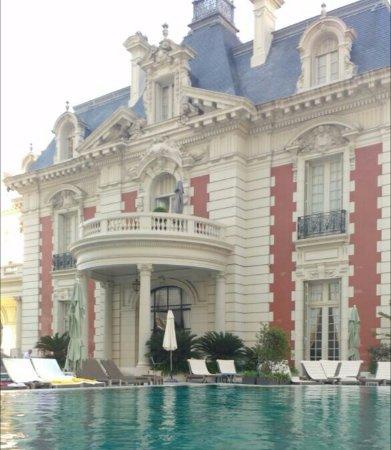 Four Seasons Hotel Buenos Aires : foto desde la pileta que es climatizada