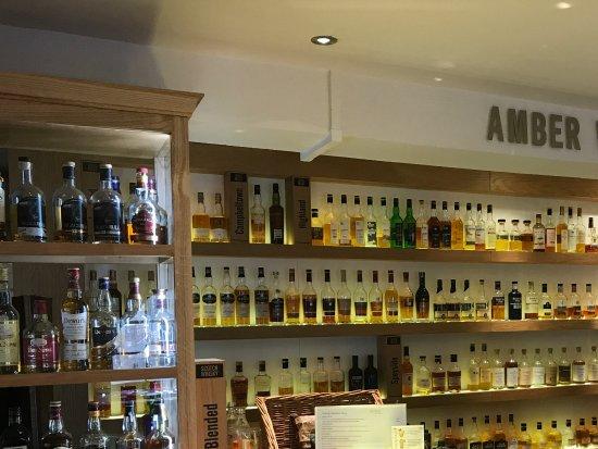 whisky tasting picture of amber restaurant at the. Black Bedroom Furniture Sets. Home Design Ideas