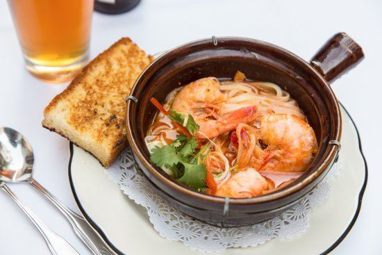 The Pelican Club: BBQ Shrimp--A little heat perfect with an icy cold beer!