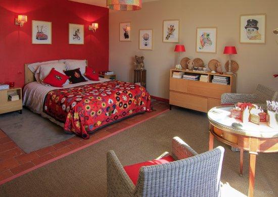 Chambre exotique le matin - Photo de Logis de la Fouettiere ...