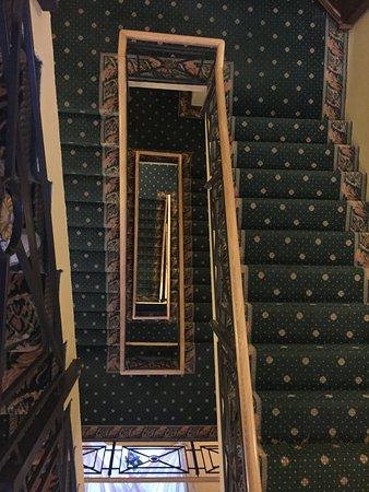 Hotel Gutenbergs: staircase