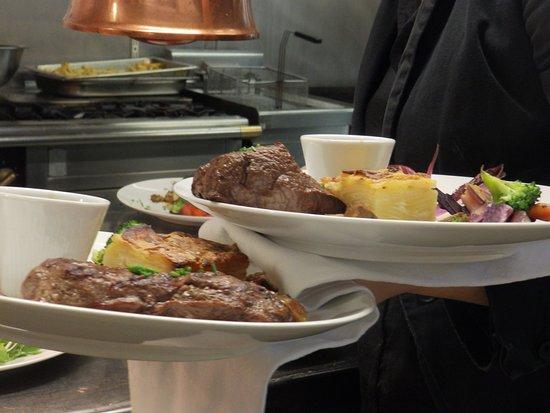 Pièce du boucher - Picture of La table de MarYann, Basse-Goulaine ...