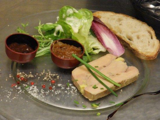 Foie gras de canard maison - Picture of La table de MarYann, Basse ...
