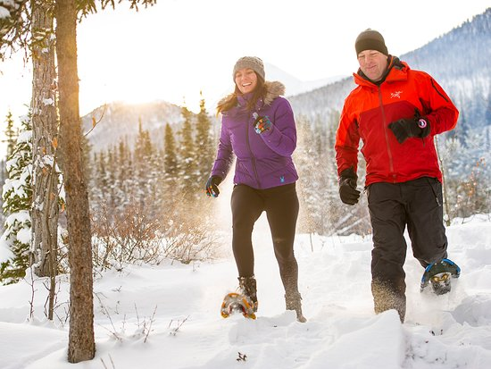 Yukon, Canada: Strap on some snowshoes to enjoy the magical winter landscape