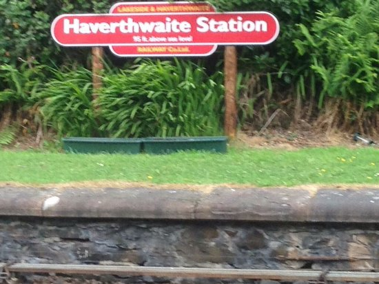 Haverthwaite, UK: Train 🚂
