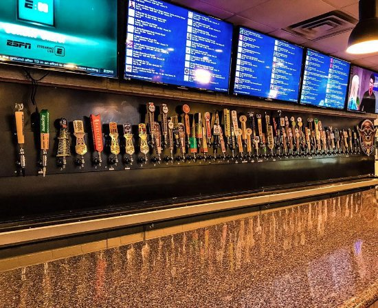 Salado, TX: More than 60 Texas craft beers on tap! 250+ wines to choose from!