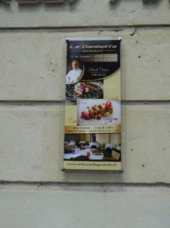 Restaurant le Gambetta: Le Gambetta.