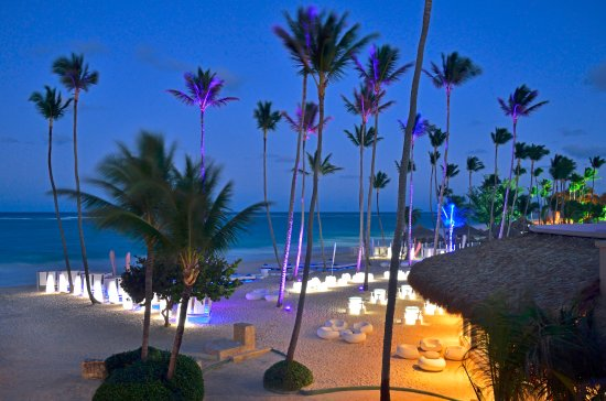 Paradisus Punta Cana Resort: Gabi Beach - night
