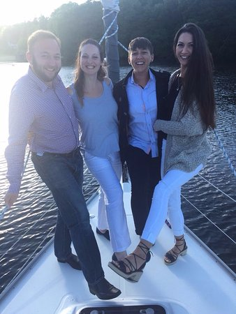 Bowness-on-Windermere, UK: Fun on board