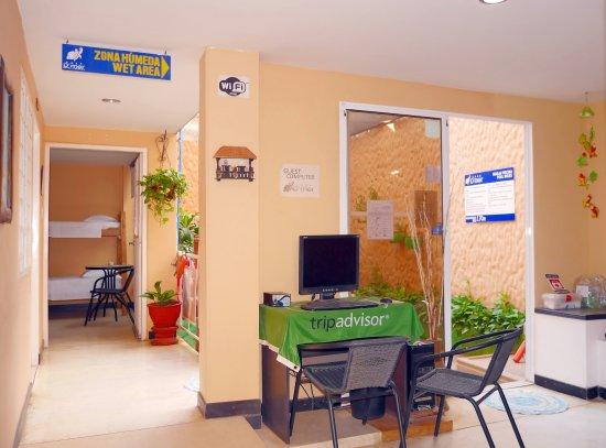 Hotel Casa D'mer Taganga: Computador Huéspedes