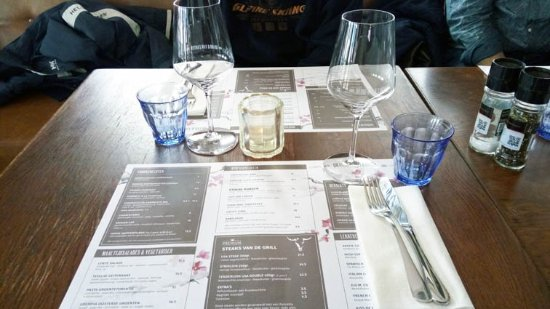Driebergen, Pays-Bas : the table