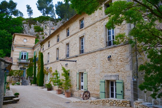 Noves, France: the main house of Gabby and Guy