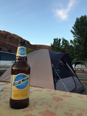 Moab Valley RV Resort & Campground: La nostra piazzola
